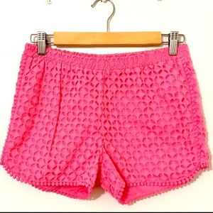 Lilly Pulitzer for Target Eyelet Pull On Shorts